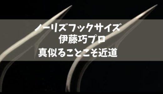 ノリーズ ワーム フックサイズ 伊藤巧プロ 真似ることこそ近道!